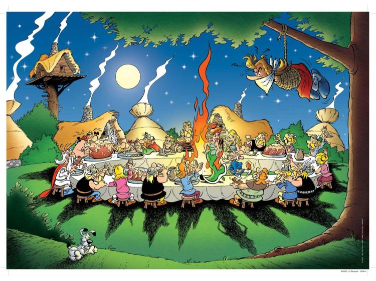 Asterix, fête de village