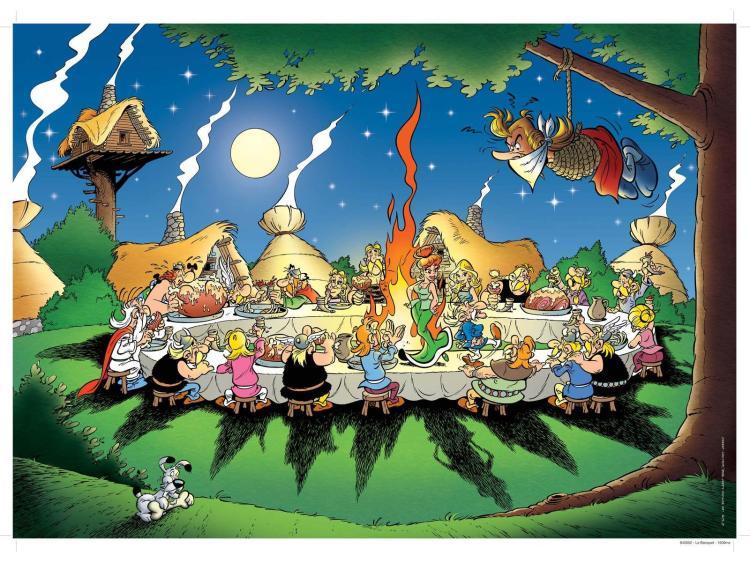 Asterix, fête de village