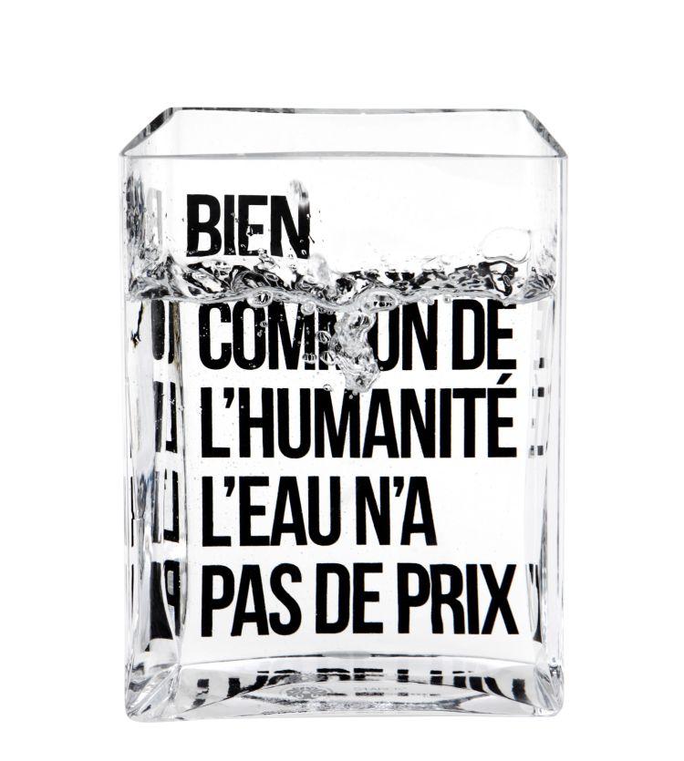 Bien commun de l'humanité l'eau n'a pas de prix