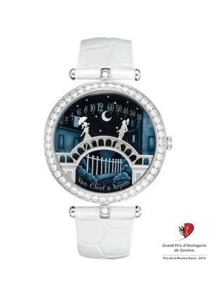 Модель Pont des Amoureux для Van Cleef & Arpels, лучшие женские часы 2010 года /// Pont des Amoureux by Van Cleef & Arpels, best ladies' watch of 2010
